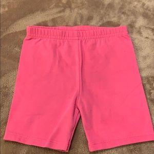 GARANIMALS Toddler Girls Pink Cotton Bike Shorts